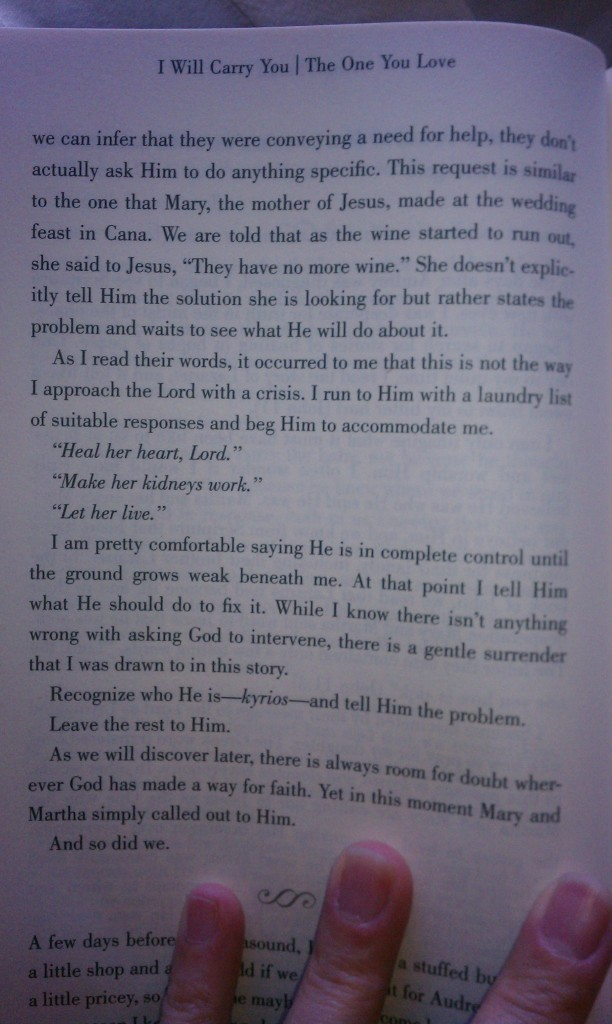 He Will Carry You - p 24