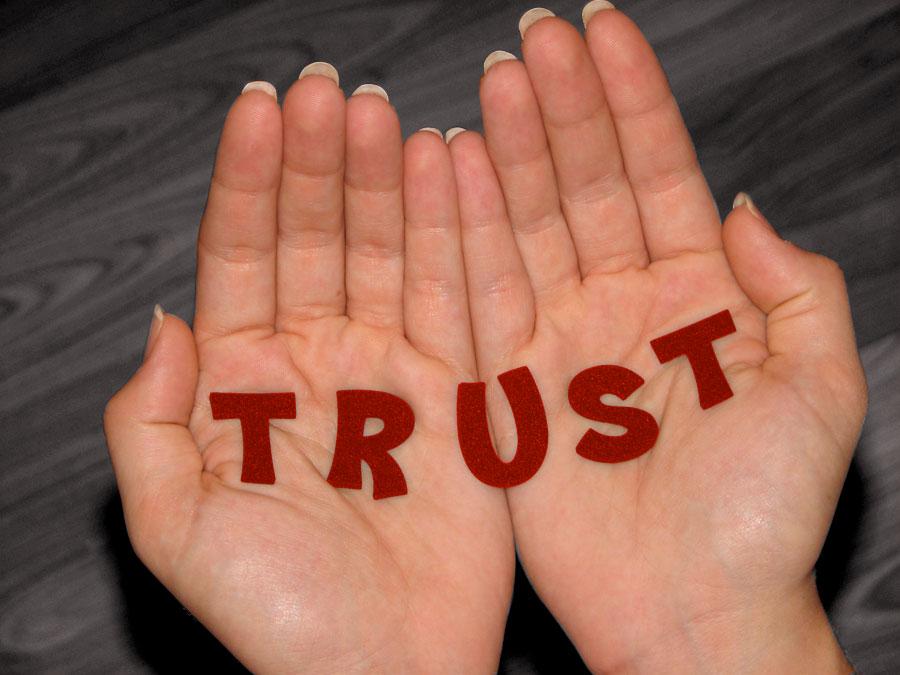 hands of trust